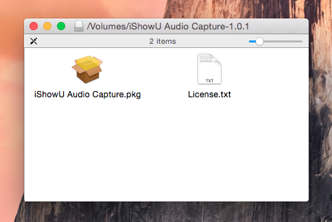 Installing iShowU Audio Capture – shinywhitebox help